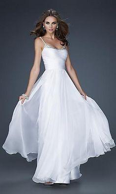 long white dress♥