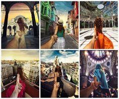 El sueño de viajar hecho imagen