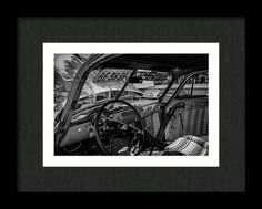 Rat Rod Framed Print featuring the photograph Gunslingers Rat Rod by Marnie Patchett