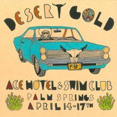 Poster Ace Hotel  Swim Club
