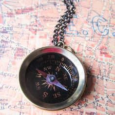 Compass Necklace now featured on Fab.