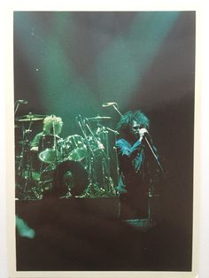The Cure - Live 1985 (postcard from my private collection)