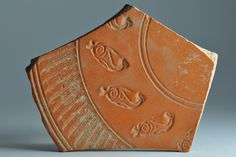 African red slip ware sherd with fish stamp 2