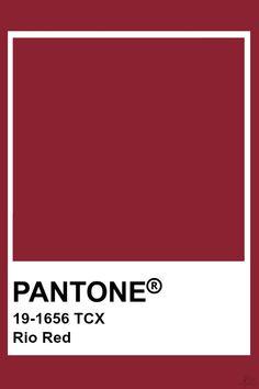 Pantone Rio Red