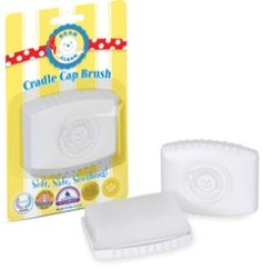 Bean-b-Clean Cradle Cap Brush. Soft and effective - helps to remove those dreaded fakes of cradle cap when they appear.