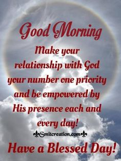 Good Morning God Quotes Images, Pictures and Graphics