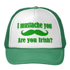 >>>Are you looking for Funny Irish mustache St Patrick's day Trucker Hats Funny Irish mustache St Patrick's day Trucker Hats today price drop and special promotion. Get The best buyShopping Funny Irish mustache St Patrick's day Trucker Hats Here a gre...Cleck See More >>> http://www.zazzle.com/funny_irish_mustache_st_patricks_day_trucker_hats-148785679590196589?rf=238627982471231924&zbar=1&tc=terrest
