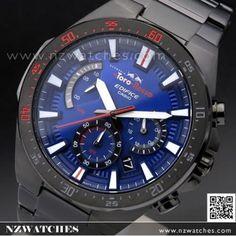 Casio Edifice Scuderia Toro Rosso Ltd Watch Casio Edifice, Chronograph, Watches, Wristwatches, Clocks