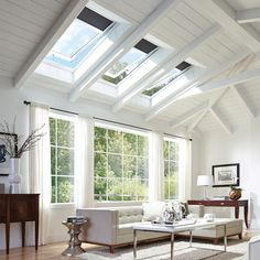 Skylights and other upgrades can help improve your home's energy efficiency.