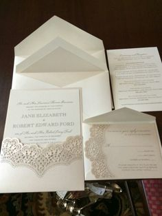 Vera Wang Pewter Wedding Invitation With A Gold Monogram.Available At  Honey Paper.com   Vera Wang   Pinterest   Vera Wang Wedding, Wedding And  Wedding