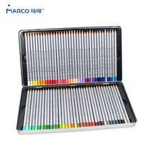 MARCO 7100 lápis de Madeira Lápis de cor 72 Caixa de Ferro Óleo Prismacolor Profissional caixa de lápis de Desenho Esboço Arte Para Material Escolar