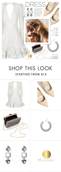 """""""Angieberrys"""" by soygabbie ❤ liked on Polyvore featuring Zimmermann, Karen Millen, Lanvin and Angieberrys"""