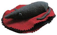 Sale Antique Mouse Wool Felt Pen Wipe. $550.00, via Etsy.