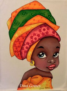 Character Diamond Painting African Girl Full Drill Cross Stitch DIY Home Decoration Kit Black Girl Art, Black Women Art, Art Girl, Art Women, African Girl, African American Art, African Children, African Beauty, American Women
