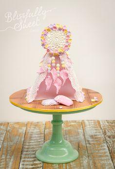 Dreamcatcher Cake Topper