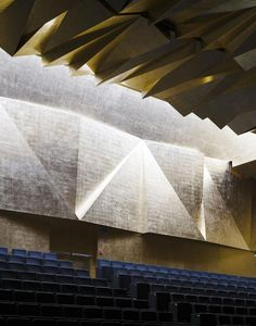 Philharmonic Hall in Szczecin by Barozzi / Veiga. Photography © Simon Menges. Click above to see larger image.
