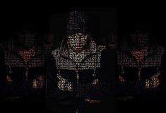 #desktop backgrounds #effect #hd wallpaper #hood #man #mystery #reflections #text