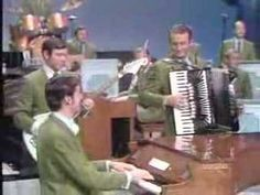 """From here's Buddy Merrill, Bob Ralston and Myron Floren along with the rest of the Champagne music makers performing the ever popular """"Calcutta"""", a mil. The Lawrence Welk Show, Accordion Music, Number One Hits, Instrumental Music, U Tube, Piano Player, Piano Man, Moving Pictures, Classic Tv"""