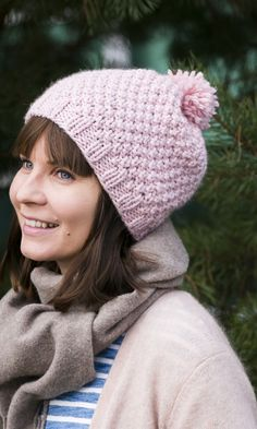 Helmineulepipo | Meillä kotona Knitting Projects, Knitting Patterns, Knit Crochet, Crochet Hats, Drops Design, Beanie Hats, Beanies, Fun Projects, Knitted Hats