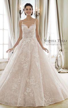 Courtesy of Mon Cheri Wedding Dresses Modest Collection
