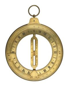 Brass ring dial used by seamen to calculate the time of day when at sea. The dial was made by the mathematical and optical instrument maker Joseph Long who established his business in Little Tower Street in 1821. Long's company continued to produce precision instruments at these premises until 1884 when it moved to 43 East Cheap, finally closing in 1936.    Production Date:  c. 1820