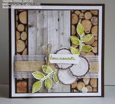 Stampin Up, Masculine Cards, Card Designs, Diy Cards, Birthday Cards, Trees, Paper Crafts, Gift Ideas, Frame