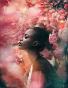 Portrait by So excited spring is here 🌸 🙌🏻 Always a fave of for Portrait Inspiration, Photoshoot Inspiration, Fotografia Floral, Fotografie Portraits, Kreative Portraits, Portrait Photography, Fashion Photography, Dreamy Photography, Photography Flowers