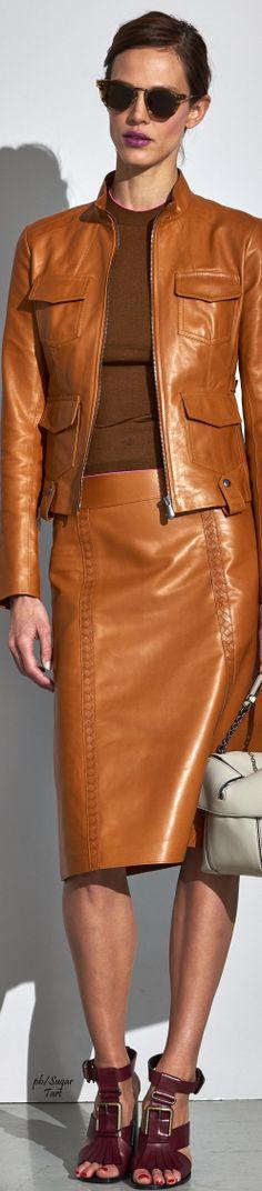 Bottega Veneta 2017. Completely awesome Dark Autumn outfit.