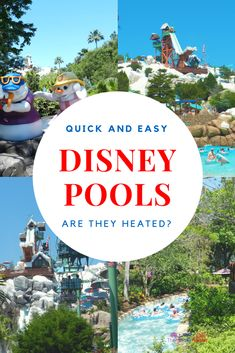 The temperature at all of the Walt Disney World resort water parks and #Disney pools are maintained and adjusted throughout the year. If the temperature of the water goes below75 degrees, the pools will get heated.