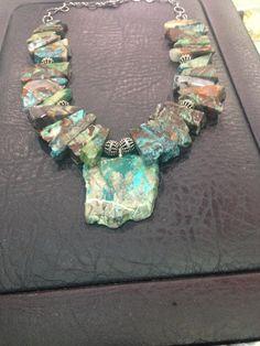 Collar turquesa Laplateriadeoviedo .com