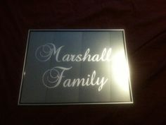 Personalized+Family+Name+Etched+Mirror+Etching+by+RMGlassEtching,+$15.00