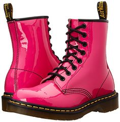 Be irresistible and punky with your new pink Dr. Martens! These are no run-of-the-mill combat boots my friend, but are...
