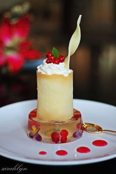 Elegant Dessert - repin by #Edendiam