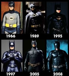 Batman: Character Evolution