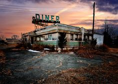 The abandoned diner on route 22 near Whitehouse Station, NJ.