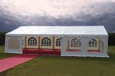 For Sale High Quality PVC Commercial Marquee. Fast UK Delivery To Your Door. Marquee Wedding, Commercial, Doors, Steel, Mansions, House Styles, Outdoor Decor, Slab Doors, Mansion Houses
