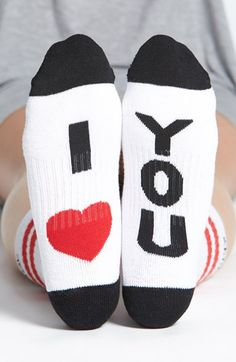Arthur George by R. Kardashian 'I Love You' Socks available at #Nordstrom