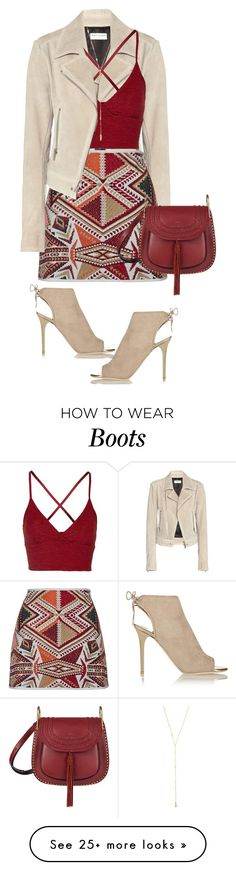 """Layers"" by lisamichele-cdxci on Polyvore featuring Balenciaga, Topshop, Jimmy Choo, Gorjana and Chloé"