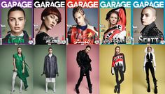 Adriana Lima, Karlie Kloss, Lexi Boling, Candice Swanepoel, Cuba Tornado Scott For Garage Magazines Spring Summer 2016 Issue