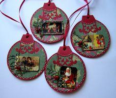 scrapbook christmas cards