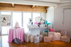 So many gifts for the bride to be!