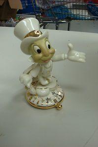 lenox disney figurines | Lenox Collectibles Disney Showcase Collection: Jiminy Cricket Figurine ...