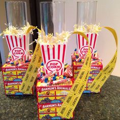 """I made these today! The cost was $9 each to make! Gift idea, """"Fund a..."""" Jar for an auction, party decoration for carnival or circus, centerpiece"""