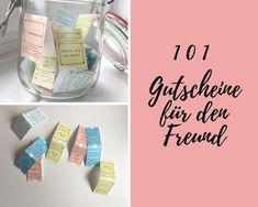 gutscheine-fuer-den-freund – Presents for boyfriend diy Presents For Boyfriend, Boyfriend Gifts, Boyfriend Ideas, Valentine Day Gifts, Christmas Gifts, Diy Gifts, Diy Presents, Coupons, Birthday Gifts