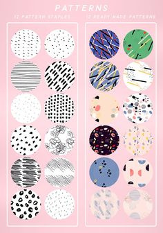 Hand Made Pattern Collection by Emma Make on @creativemarket