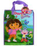 Nick Jr Dora The Explorer Tote - Multi-purpose Woven Shopping Bag