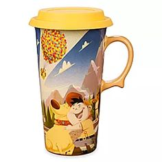Adventure is out there so travel the world of your own imagination after a sip of morning escapism from this ceramic travel mug with silicone sipper lid, featuring favorite characters from Disney and Pixar's Up. Disney Pixar Up, Disney Mugs, Disney Home, Mickey Mouse Club, Disney Mickey Mouse, Light Up Costumes, Mickey Mouse Ears Headband, Resort Logo, Avengers