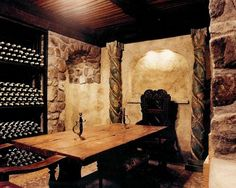 A Whole Lotta Love: Wine Cellar Dreams