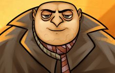 How to draw Gru. Simple.