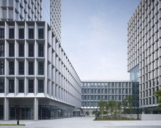 SHENZHEN SOFTWARE INDUSTRY BASE, PLOT 1 by gmp · von Gerkan, Marg and Partners Architects